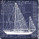 """Papier - Servítka """"Nautica cutter"""", ihneď - 9185876_"""