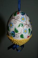 Dekorácie - Kraslica - malé kvetinky - 9188995_