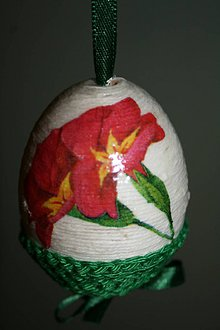 Dekorácie - Kraslica - jarné kvety - 9188953_