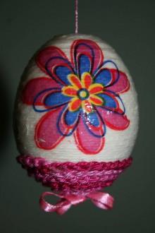 Dekorácie - Kraslica - kvetinky - 9189082_