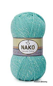 Galantéria - Nako Natural Bebe - 1705 tyrkysová - 9188852_