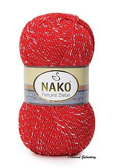 Galantéria - Nako Natural Bebe - 207 červená - 9188856_