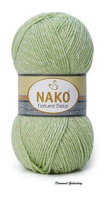 Galantéria - Nako Natural Bebe - 10262 hrášková - 9188890_