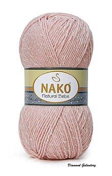 Galantéria - Nako Natural Bebe - 11620 staroružová - 9188956_