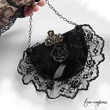 Dekorácie - Gotická dekorácia-mini kabelka - 9190490_