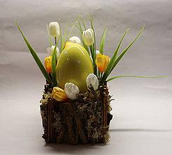 Dekorácie - Veľkonočné vajíčko - 9187534_