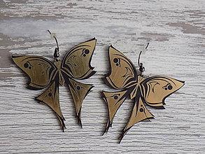 Náušnice - Náušnice - Butterflies - 9187056_