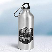 Nádoby - Turistická fľaša - 9186710_