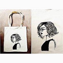 Iné tašky - Maľovaná taška - 9187931_