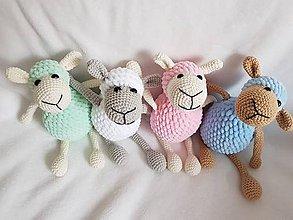 Hračky - Háčkované ovečky - 9190351_