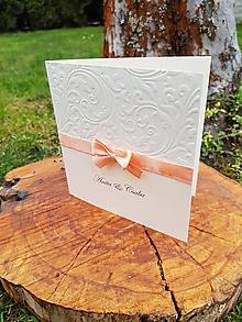Papiernictvo - Svadobné oznámenie Anita - 9188390_