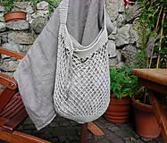 Nákupné tašky - Retro sieťovka - 9187102_