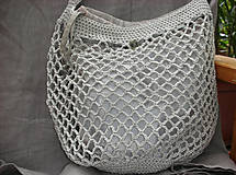 Nákupné tašky - Retro sieťovka (s vnútorným vreckom) - 9187103_