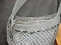 Nákupné tašky - Retro sieťovka (s vnútorným vreckom) - 9187104_