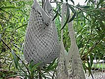 Nákupné tašky - Retro sieťovka (s vnútorným vreckom) - 9187105_
