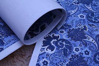 Úžitkový textil - MODROTLAČOVÉ ORNAMENTOVÉ PRESTIERANIE - 9189821_