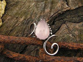 Prstene - Strieborny prsteň Ag925 Ruženín - 9187294_
