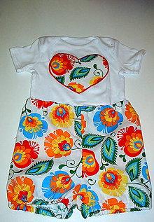 Detské oblečenie - súprava body a nohavičky - 9190516_