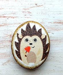 Odznaky/Brošne - Brošňa ježko Jožko - 9189575_