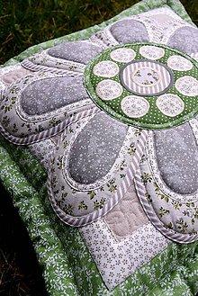 Úžitkový textil - Krajina divých kvetov No.6 - vankúš - 9186840_