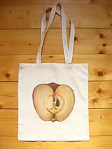 Nákupné tašky - taška jablková - 9194814_
