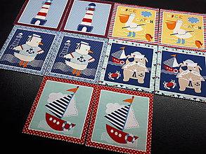 Detské doplnky - Látkové pexeso-10 ks - 9195007_