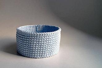 Košíky - Košík - Modrý | svetlý | malý - 9195088_