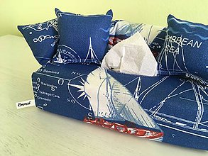 Krabičky - Obal na servítky The Ocean - 9194333_