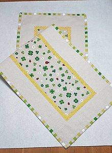 Úžitkový textil - Jarný  obrus 120 cm - 9194405_