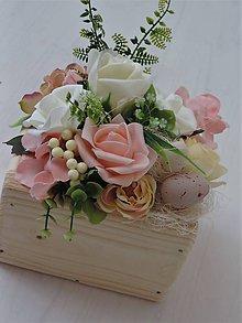 Dekorácie - Jarná dekorácia, výpredaj 50% zľava, veľkonočná dekorácia - 9190976_