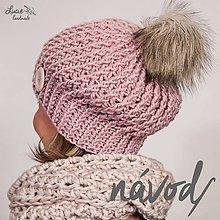Návody a literatúra - NÁVOD č.105...dámský zimní 2-SET - 9193285_