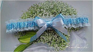Bielizeň/Plavky - podväzok pre nevestu - 9190530_