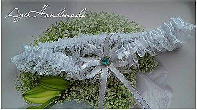 Bielizeň/Plavky - podväzok pre nevestu - 9190539_