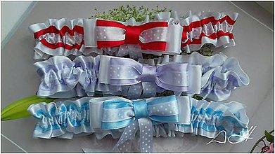Bielizeň/Plavky - podväzok pre nevestu - 9190545_