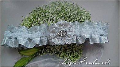 Bielizeň/Plavky - podväzok pre nevestu - 9191075_