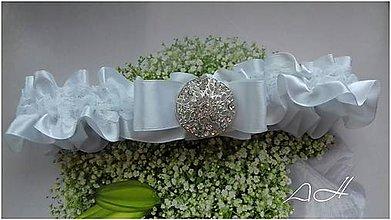 Bielizeň/Plavky - podväzok pre nevestu - 9195266_