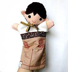 Hračky - Maňuška folk chlapec - Ferko - 9192372_