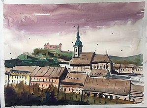 Obrazy - Stare mesto - 9194371_