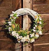 Dekorácie - Venček z čerešňových kvetov - 9194989_