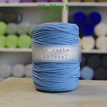 Úžitkový textil - Koberec - okrúhly (Modrá) - 9195735_