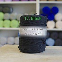 Úžitkový textil - Koberec - okrúhly (Čierna) - 9195738_