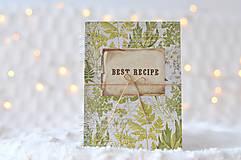 Papiernictvo - Receptárik - herbs III. - 9195227_