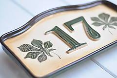 Tabuľky - Číslo domu z keramiky - 9190858_