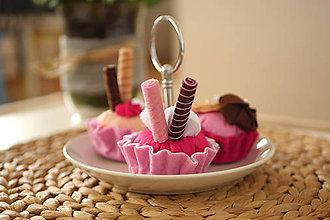 Hračky - Sladučké Pinky cupcakes - 9195660_