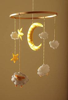 Detské doplnky - Ovečky v oblakoch - 9195718_