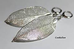 - Pure Leaves Silver (Náušnice) - 9194369_