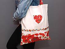 Nákupné tašky - ...vlčie maky... - 9190711_