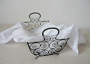 Košíky - Košík na  pečivo - 9193413_