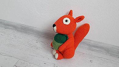 Hračky - veverička (2) - 9192299_