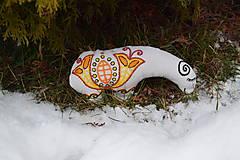 Dekorácie - ovečka detvianka - 9199553_